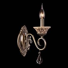 Бра 3160/1 античная бронза/хрусталь Strotskis