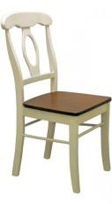 Набор стульев 4865 дуб темный/молочный (2 шт.)