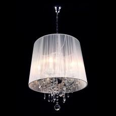 Подвесной светильник 2045/5 хром/белый