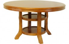 Стол обеденный 2435LC вишня светлая