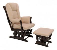 Кресло-качалка 1804/1805 венге/бежевый