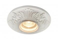 Встраиваемый светильник Plaster A5278PL-1WH