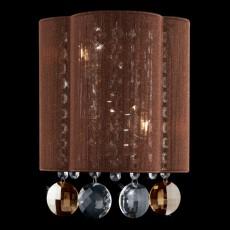 Накладной светильник 3255/2 хром/тонированный хрусталь Strotskis
