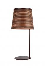 Настольная лампа декоративная Zebrano 1356-1T