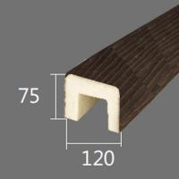 Архитектурный брус Cosca, 120x75x4000, африканский палисандр
