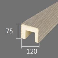 Архитектурный брус Cosca, 120x75x4000, шелковое дерево