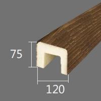 Архитектурный брус Cosca, 120x75x4000, южный дуб