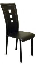 Набор стульев 1704 черный (4 шт.)