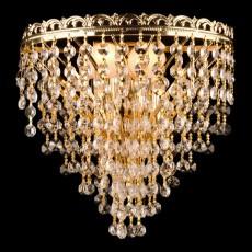 Накладной светильник 3402/2 золото Strotskis