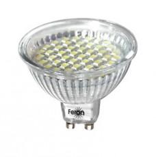 Лампа светодиодная LB-24 GU10 220В 3Вт 2700 K 25163