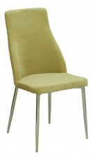 Набор стульев 1728-7 хром/оливковый (4 шт.)