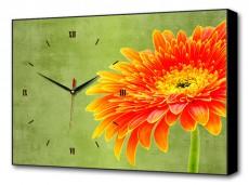 Настенные часы (60х37 см) Цветочная улыбка BL-1014