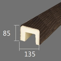Архитектурный брус Cosca, 135x85x2000, африканский палисандр