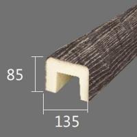 Архитектурный брус Cosca, 135x85x4000, серый кипарис