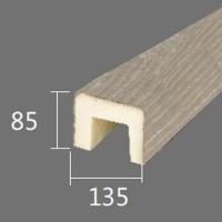 Архитектурный брус Cosca, 135x85x4000, шелковое дерево