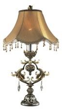 Настольная лампа декоративная Safira 2802/1T