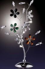 Настольная лампа декоративная Rosea 1460/3T