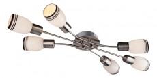 Потолочная люстра Оптима 6020/6 никель