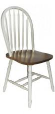 Набор стульев 4853 дуб темный/молочный (4 шт.)