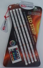 Комплект из 4 лент светодиодных (1.2 м) 11 110/30ERW-color