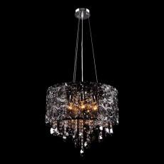 Подвесной светильник 3400/5 хром/дымчатый хрусталь Strotskis