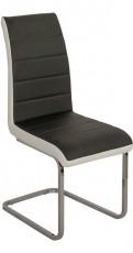 Набор стульев 1724 черный/белый (4 шт.)