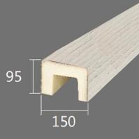 Архитектурный брус Cosca, 150x95x4000, белое дерево