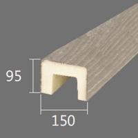 Архитектурный брус Cosca, 150x95x4000, шелковое дерево