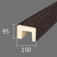Архитектурный брус Cosca, 150x95x2000, темная секвойя
