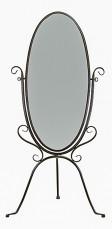 Зеркало напольное 2117К темно-коричневое