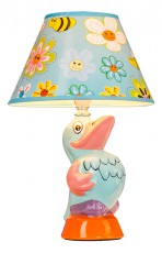 Настольная лампа декоративная D1-62 Blue