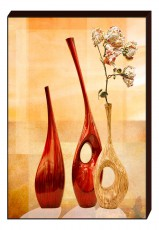 Панно (60х80 см) Ваза с цветами K-3007