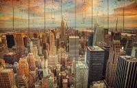 Картины на досках Города МФ10071