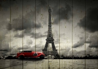 Картины на досках Города МФ10072
