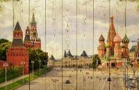 Картины на досках Города МФ10074