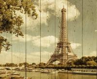 Картины на досках Города МФ10077