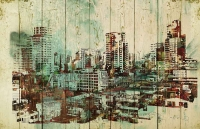 Картины на досках Живопись МФ10088