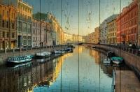 Картины на досках Города МФ10202