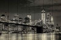 Картины на досках Города МФ10209