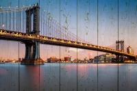 Картины на досках Города МФ10213
