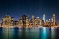Картины на досках Города МФ10216