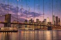 Картины на досках Города МФ10222