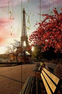 Картины на досках Города МФ10223