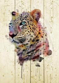 Картины на досках Животные МФ10229