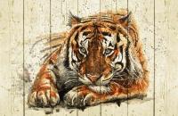 Картины на досках Животные МФ10286