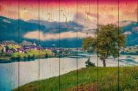 Картины на досках Природа МФ10306