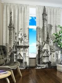 Фотошторы «Замок-дворец»