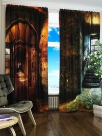 Фотошторы «Тайная дверь»