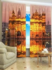 Фотошторы «Золотой храм»
