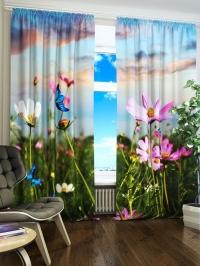 Фотошторы «Цветочный Луг»